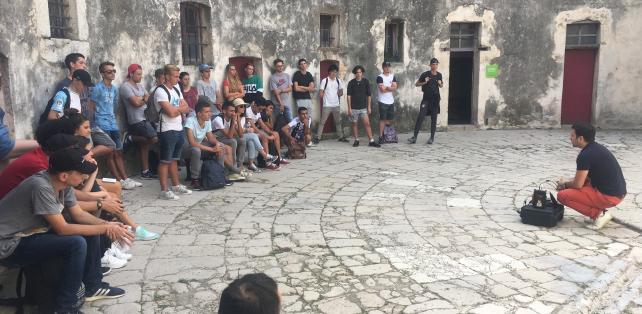 Dans le fort carré d'Antibes